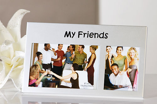 "Casablanca Design Fotorahmen ""My Friends"" Freunde 33007"