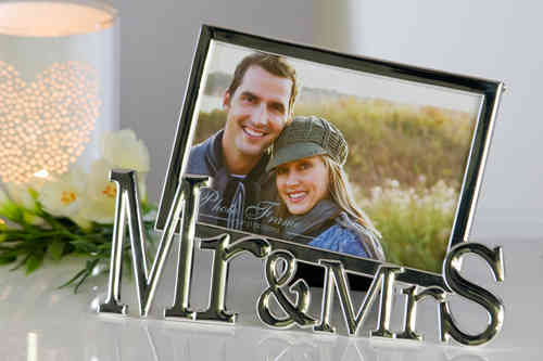"Casablanca Design Fotorahmen ""Mr & Mrs"""